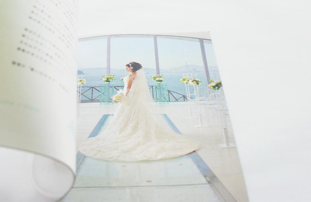 seahorse weddingパンフレット
