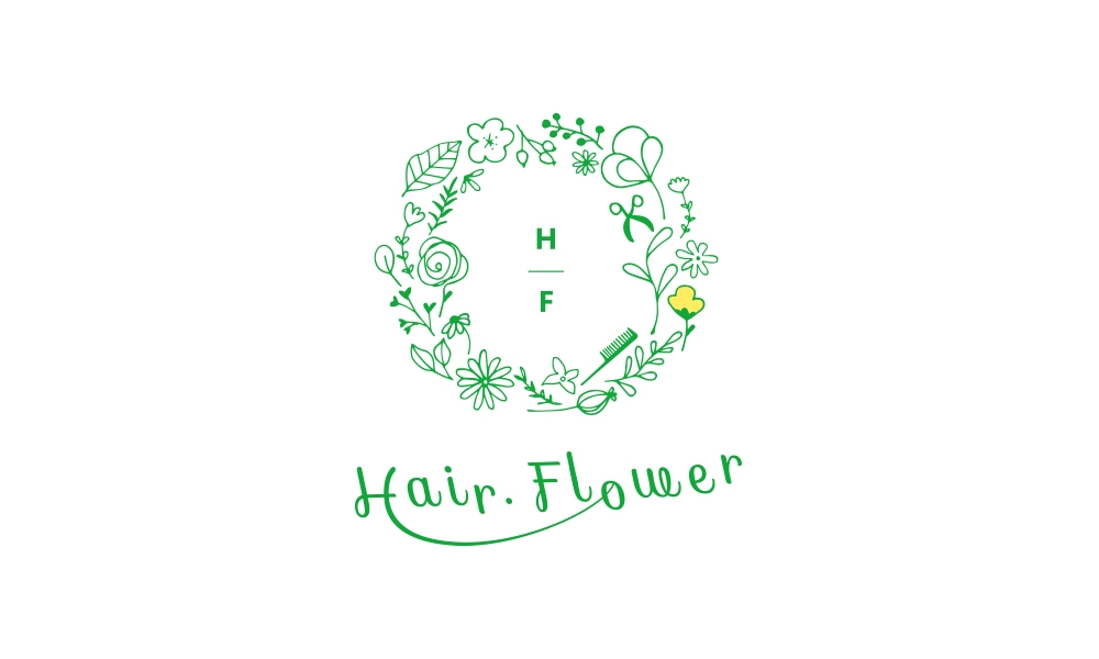 hairflower ロゴ