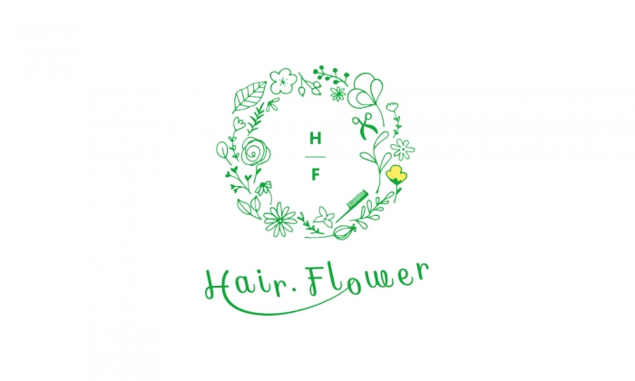 hairflower ロゴ